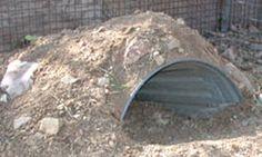 Trash Can Tortoise Burrow - a Bucket Burrow upgrade for growing tortoises! PetDIYs.com