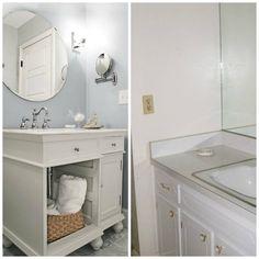 beauty on a budget: bathroom redos - The Snug