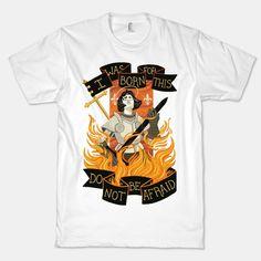 Saint Joan Of Arc | T-Shirts, Tank Tops, Sweatshirts and Hoodies | HUMAN