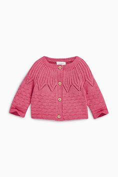 Buy Raspberry Cardigan (0mths-2yrs) from the Next UK online shop