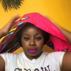A winding tutorial with our Spiral Life Headwrap. A winding tutorial with our Spiral Life Headwrap. African Hair Wrap, African Head Scarf, African Head Wraps, Hair Wrap Scarf, Hair Scarf Styles, Head Wrap Headband, Scarf Head Wraps, Head Scarf Tying, Moda Afro