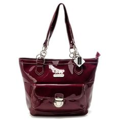 368a2334ef8b Coach Willis Colorblock Medium Red Totes AFB Give You The Best feeling!  Coach Purses Cheap