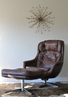 Bond....James Bond. A fantastic mid-century lounge chair with killer curves. This Selig Imperial Egg chair rocks and rotates so you can find your