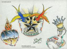 random image by outlaws tattoo petr& rj old school tattoo Outlaw Tattoo, Old School Tattoo Designs, Old Tattoos, Picture Tattoos, Tattoo Ideas, Random, Pictures, Shirts, Animals