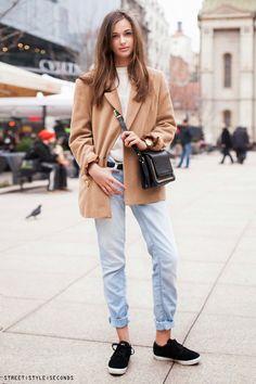 Irina Suša, studentica urbanog šumarstva street style look