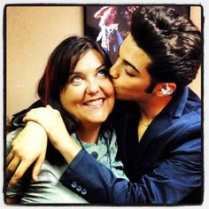 Gianluca and his devoted Barbara! #bestroadmanagerever!