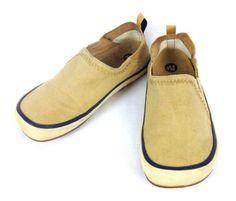 MERRELL-Shoes-Womens-10-M-Hemp-Moccasins-Boat-Comfort-Slip-On-Athletic-Beige