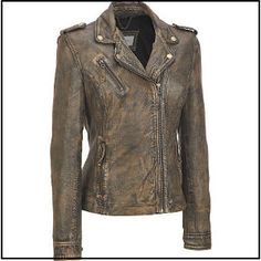 Marc New York Vintage Leather Moto Jacket available at Wilsons Leather