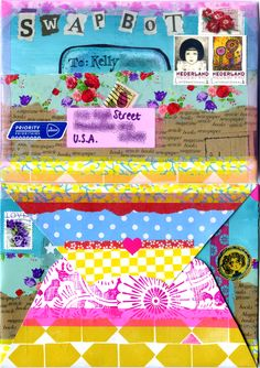 Swap-bot: WIYM Cover my envelope - by El' Papel