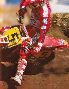 Motocross # Dave Thorpe # honda