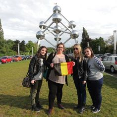 Ce week-end de dingue avec les filles restera un des plus beaux de mon aventure RDB #Bruxelles #Atomium #10Mai2014