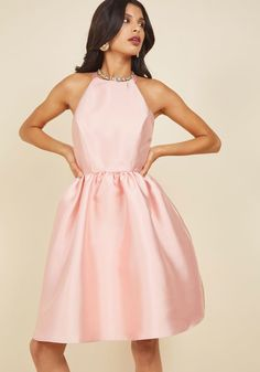 3dab6c20b24 Fleurs Truly Fit and Flare Dress in Petal