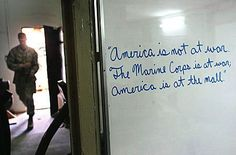 sign found at a us military facility in ramadi iraq.