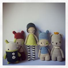 Crochet dolls by { Amour Fou }
