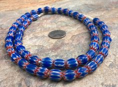 African Trade BeadsVintage Chevron BeadsFull by RedEarthBeads