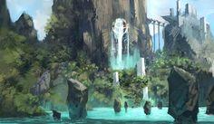 Water Island Sketch   Kalen Chock