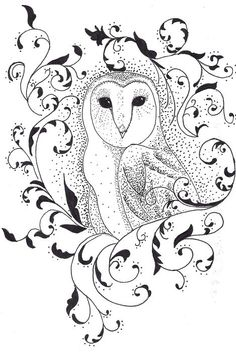 Google Image Result for http://images.fineartamerica.com/images-medium/owl-in-filigree-alexandra-sloan.jpg