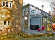 living room lean to conservatory extension