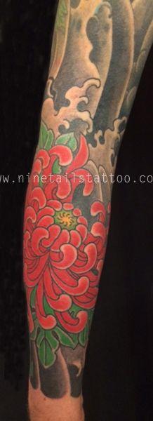 Kanae - Nine Tails Tattoo, London.  Japanese Tattoo enquiries@ninetailstattoo.com