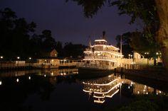 Liberty Belle River Boat. Magic Kingdom