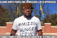 Blog Mizzou hunger striker protesting white privilege has a father making 6 million last year