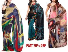 #Ethnic apparel from #FabDeal has been designed keeping in mind the outlook and aesthetics of a modern Indian women. This collection is a perfect addition to your #ethnicPartyWear as well as #casualWear collection and you can get this at flat 70% off.