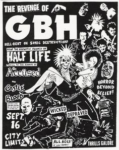 GBH//Half Life//The Accused//Castle Blood