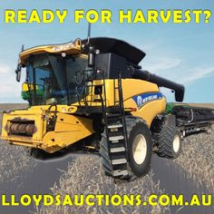 This is our BIGGEST Agricultural Clearance EVER at Lloyds! This gargantuan Simulcast Auction includes a MASSIVE selection of harvesting and farming equipment plus LOADS Farming, Tractors, This Is Us, Monster Trucks, Auction