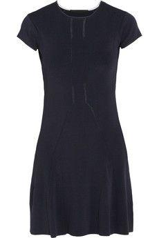 14cdeddc86 Karl Lagerfeld - Nieve stretch-crepe mini dress