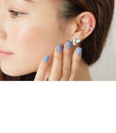 Silver Eagle Pearl Earrings | STYLENANDA