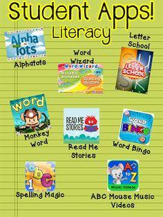The Kindergarten Smorgasboard: A Kindergarten Smorgasboard Of Our Favorite Apps!