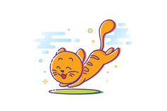 Cheerful Cat by lisamoon on @creativemarket