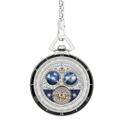 Montblanc 112586 - Tourbillon Cylindrique Geospheres Pocket Watch