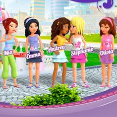 Lego Friends I want all of them I all ready got Andrea !!!!