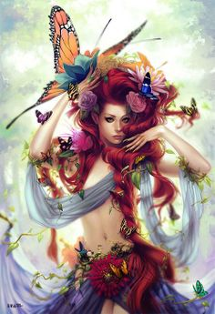 Fairy with Butterflies