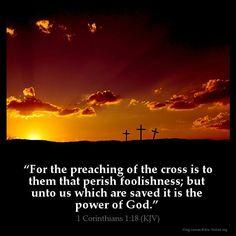 1 Corinthians 1`:18 KJB: