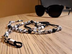#beadedsunglasschain, #sunglasschain, #handmadeglasschain, #glasschain, #handmadeaccessories, #accessories, #beadedglasschain, #semipreciousstones, #evapolart, #handmade Beaded Jewelry, Handmade Jewelry, Beaded Bracelets, Jewels, Chain, Sunglasses, Accessories, Bijoux, Beading Jewelry