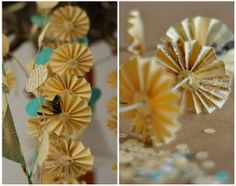 Trend Talk with Laura Vegas: Scrapbooking with Accordion Pinwheels