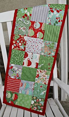 I am continuing my handmade Christmas gifts and this weekend, I decided to make a holiday table runner for Mila's teacher at school. This is a super simple project to make and will really make a perfect gift this holiday season. For this runner I used Kate Spain's in from the cold charm pack from …