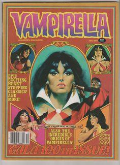 Vampirella Vol 1 100 Comic Book.  VF.  by RubbersuitStudios #vampirella #frankfrazetta #comicbooks