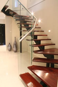steel spine staircase