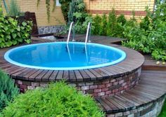 backyard designs with swimming pools and outdoor seating area