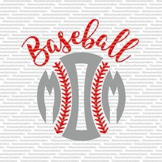 baseball mom svg cut file sports sport silhouette ball