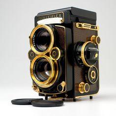 Beautiful Gold Rolleiflex