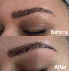 Brow Lamination is a new and exciting salon treatm Thick Brows, Natural Brows, Straight Brows, Natural Makeup, Brow Tinting, Brow Gel, Brow Quotes, Eyebrow Lift, Brow Studio
