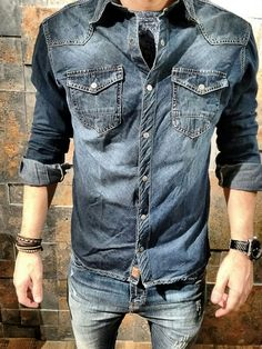 All Jeans Camisa jeans masculina