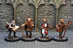 DAB4 – Henchmen & Hirelings (12) | Otherworld Miniatures