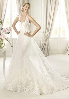 2014 New Style Pronovias PETUNIA Wedding Dress
