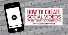 create social videos