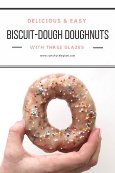 Mother's Day Recipe! Easy (And Delicious) Homemade Donuts...Made With Biscuit Dough